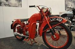 Motocicletta dell'ufficio postale del bantam di BSA Fotografie Stock