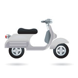 Motocicletta della città dell'annata Fotografie Stock