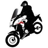 Motocicletta di Honda CB500x illustrazione vettoriale