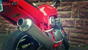 Motocicletta 01 di Suzuki Fotografie Stock Libere da Diritti