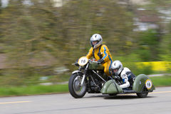 Motocicletta Velox BSA WM 20 dell'annata a partire da 1952 Immagine Stock