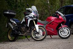 motociclette Fotografie Stock