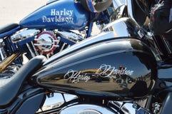Motociclette di Harley Davidson Fotografie Stock Libere da Diritti