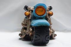 Motocicli classici miniatura dalla vista frontale Fotografie Stock