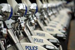 Motocicli della polizia fotografia stock libera da diritti