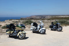 Motocicli di Harley Davidson Immagini Stock