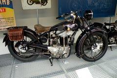 Motocicli in museo tecnico a Praga 2 Immagine Stock
