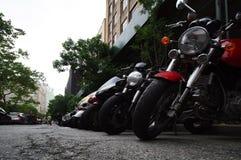 Motocicli a riposo Fotografie Stock
