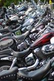 Motocicli in una riga Immagine Stock Libera da Diritti