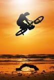 Motociclista Fotografia Stock Libera da Diritti