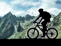 Motociclista Immagini Stock Libere da Diritti