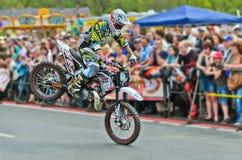 Motociclista Foto de Stock