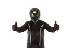 Motociclista foto de stock royalty free