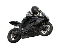 Motociclista. Fotografia Stock Libera da Diritti
