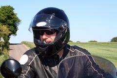 Motociclista Fotografia de Stock