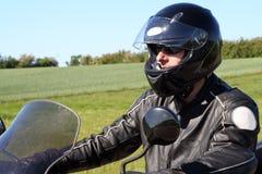 Motociclista Imagens de Stock
