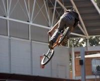 Motociclista de BMX Foto de Stock Royalty Free