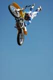 Motociclista do conluio Imagens de Stock