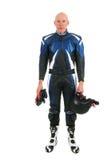 Motociclista do motor Fotos de Stock Royalty Free