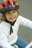 Motociclista feliz Fotos de Stock Royalty Free