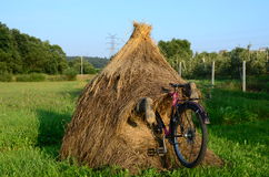 Motociclista louco fotografia de stock royalty free