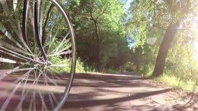 Motociclista sulla strada