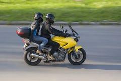 Motociclistas Fotografia de Stock Royalty Free