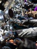 Motociclistas Foto de Stock Royalty Free