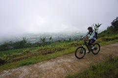 Motociclistas da montanha Fotografia de Stock Royalty Free