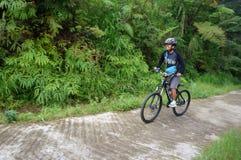 Motociclistas da montanha Imagem de Stock