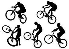 Motociclistas do esporte ilustração do vetor