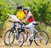 Motociclisti Fotografie Stock Libere da Diritti