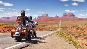 Motociclisti in America Fotografia Stock Libera da Diritti