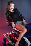 Motociclo Immagini Stock Libere da Diritti