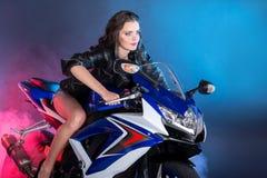 Motociclo Fotografia Stock