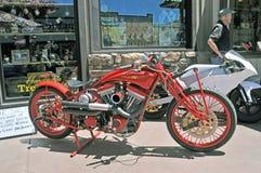 Motociclo antico Immagine Stock