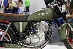Motociclo asiatico fotografia stock
