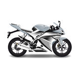 Motociclo, bici d'acciaio di sport Illustrazione Vettoriale