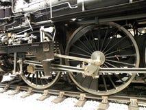 Motociclo d'annata nel museo tecnico a Praga 2 Immagini Stock