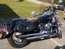 Motociclo del classico della stella di Yamaha v Fotografie Stock Libere da Diritti