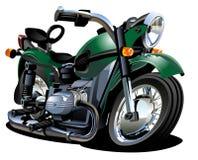 Motociclo del fumetto di vettore Fotografie Stock