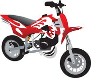 Motociclo del giocattolo Fotografia Stock Libera da Diritti