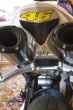 Motociclo del tubo Fotografia Stock