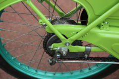 Motociclo della ruota Fotografia Stock Libera da Diritti