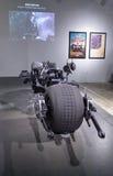 Motociclo 2008 di Batpod del nero Fotografie Stock