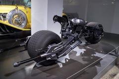 Motociclo 2008 di Batpod del nero Immagini Stock