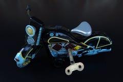 Motociclo di modello del giocattolo Immagine Stock Libera da Diritti