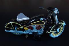 Motociclo di modello del giocattolo Fotografia Stock