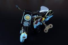 Motociclo di modello del giocattolo Fotografia Stock Libera da Diritti