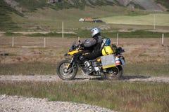 Motociclo fuori strada fotografie stock libere da diritti